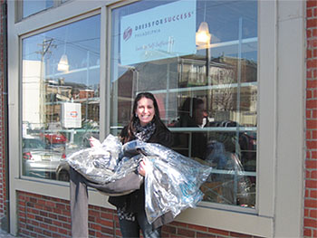 Fox Rothschild Attorney Julie D. Goldstein Helps Collect Suits for a Good Cause