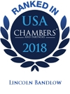 Lincoln Bandlow Ranked in Chambers USA 2018
