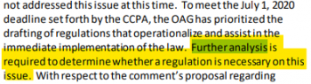 CCPA Regulations