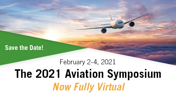 2021 Aviation Symposium save the date header